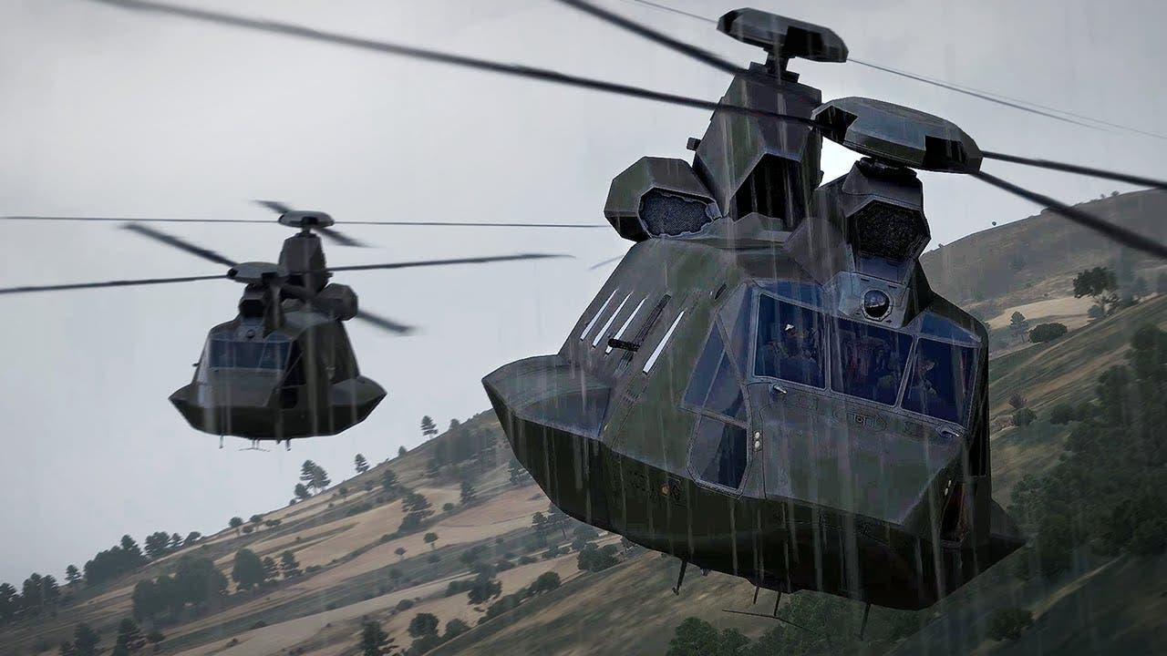 arma 3 helicopters dlc lands on