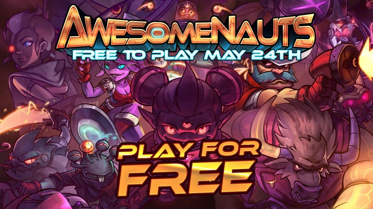 awesomenauts is going free to pl