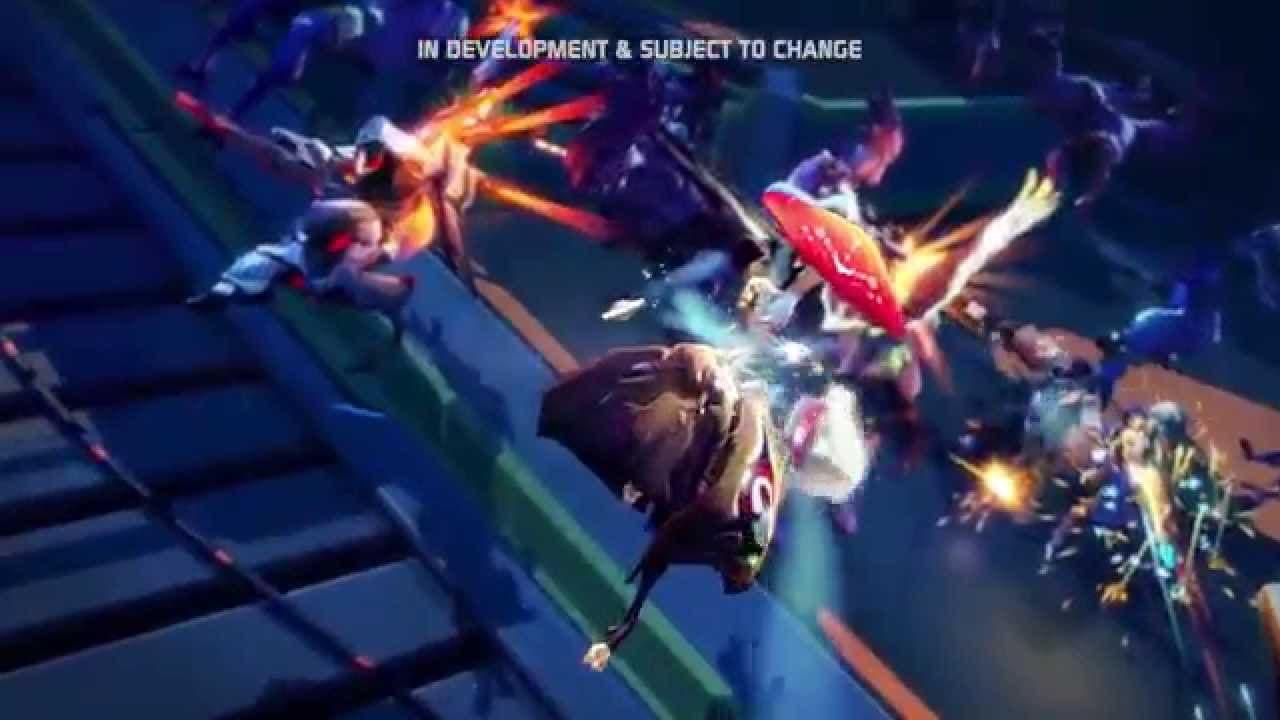 battleborn gameplay from e3 2015