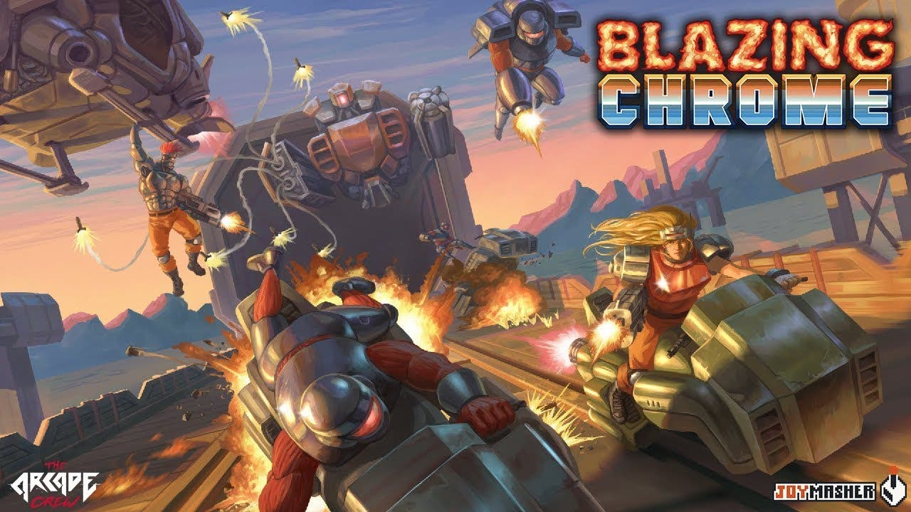 blazing chrome coming to pc ps4