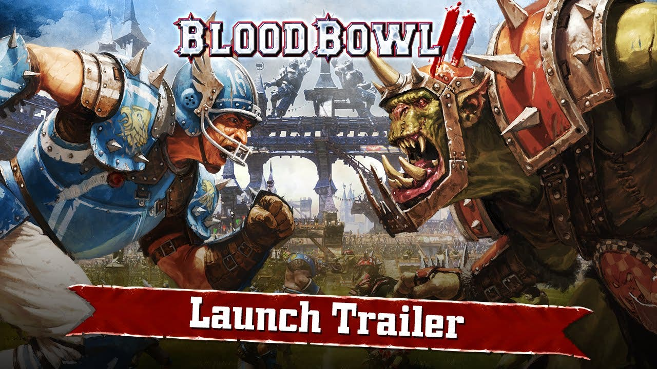 blood bowl 2 launches on pc ps4