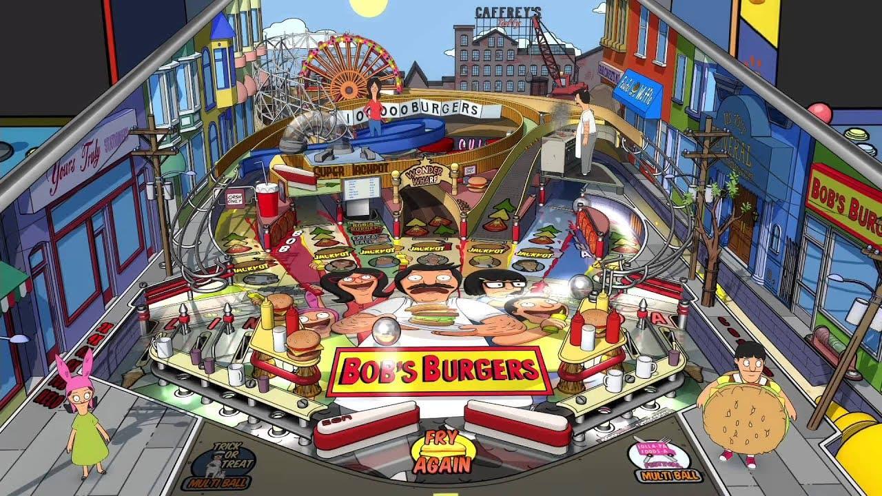 bobs burgers pinball table comin