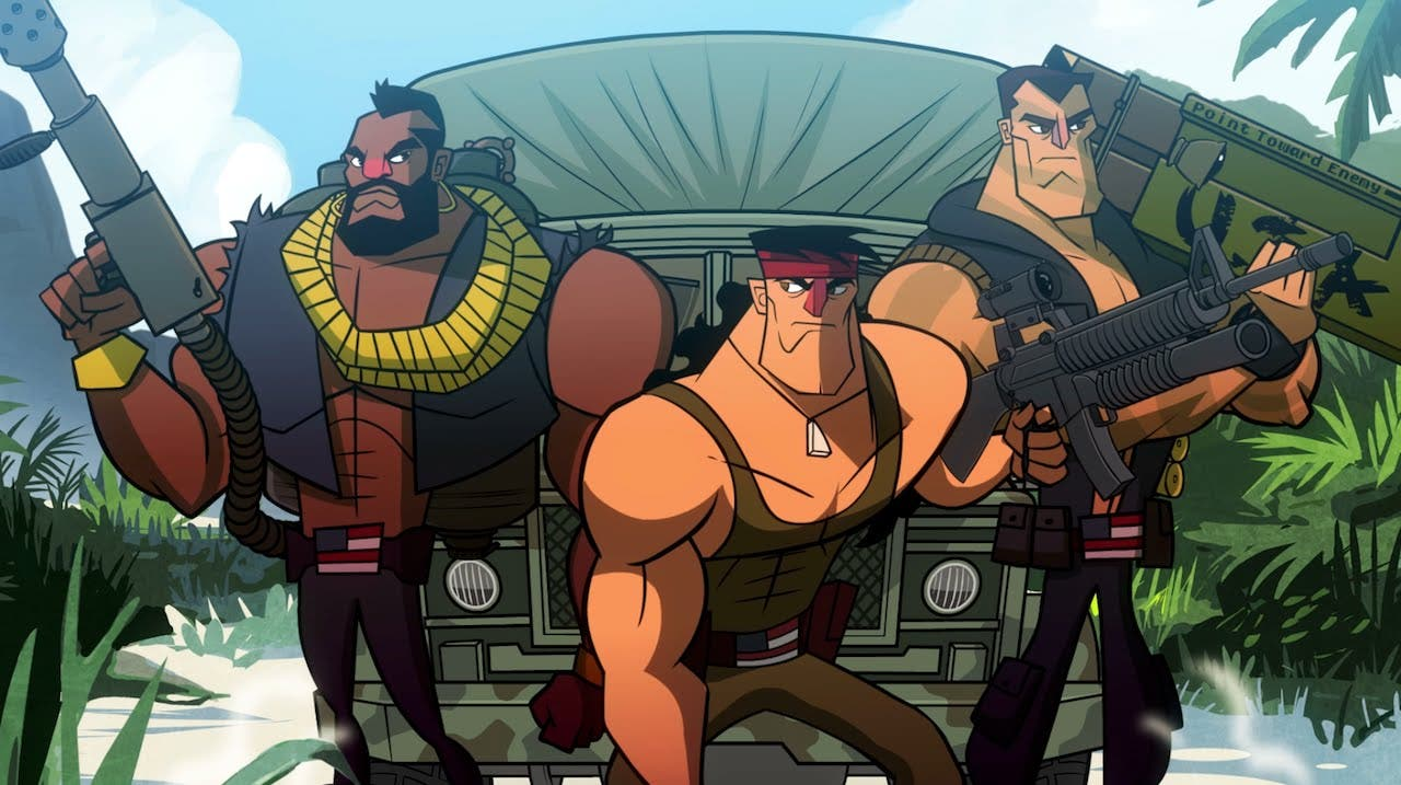 broforce explodes out of steam e