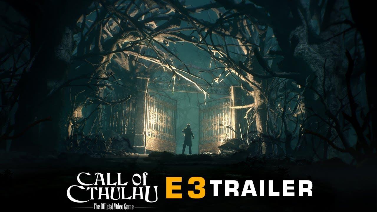 call of cthulu e3 trailer