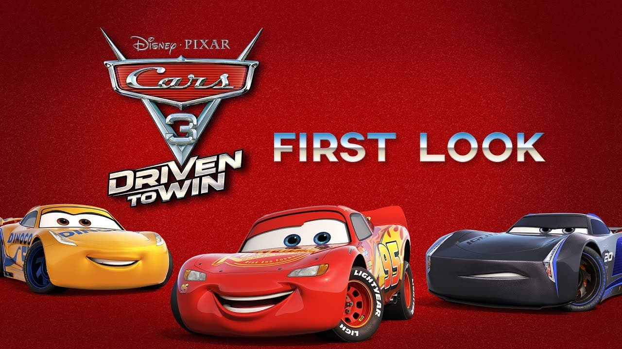 cars 3 driven to win announced c