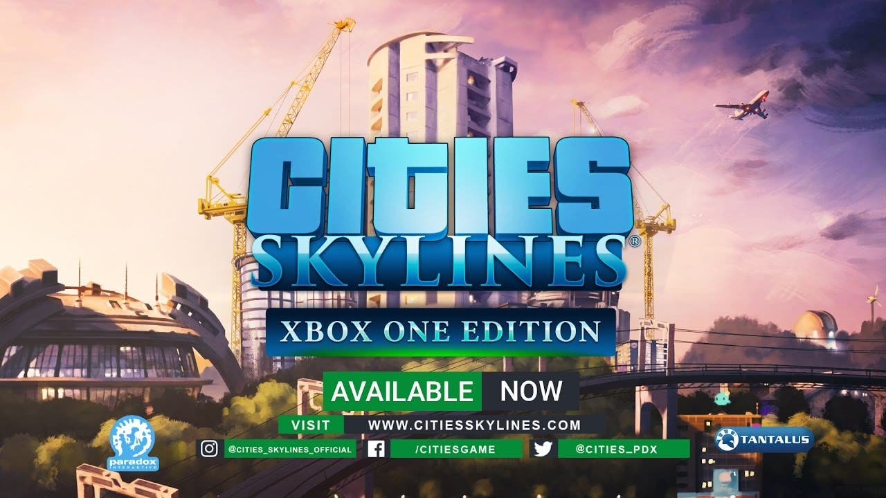 cities skylines is now available