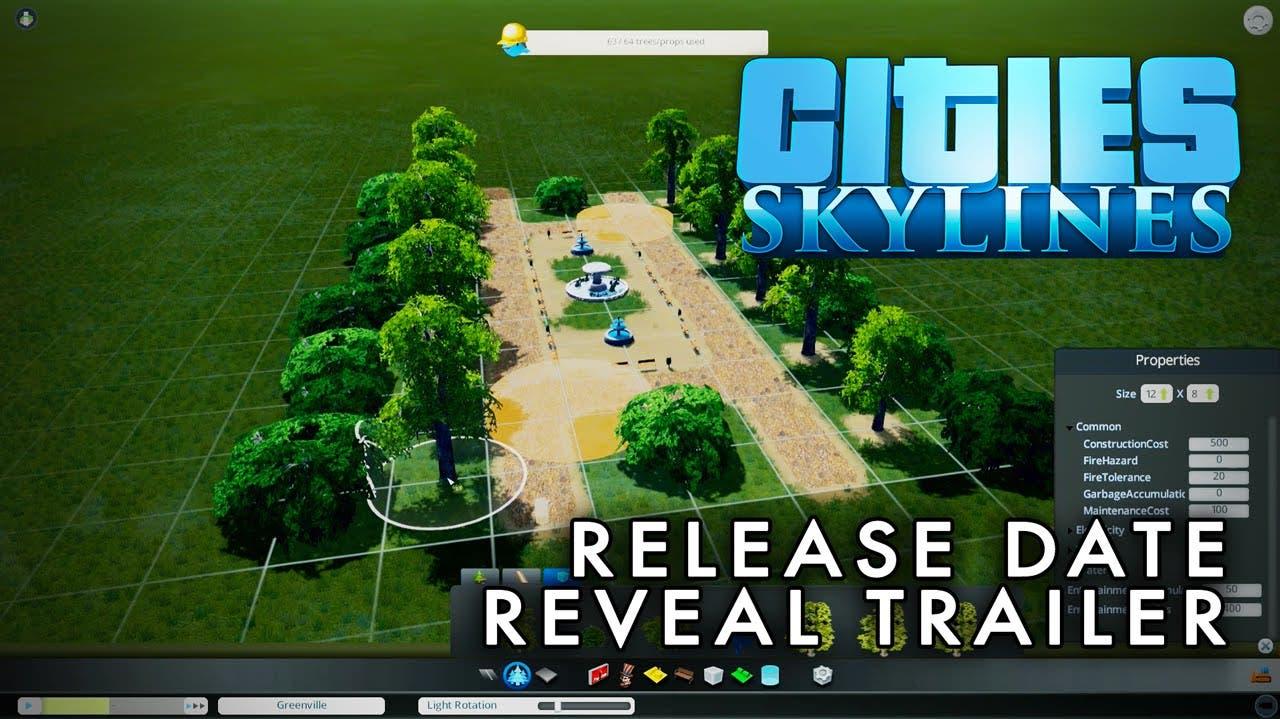 cities skylines trailer reveals