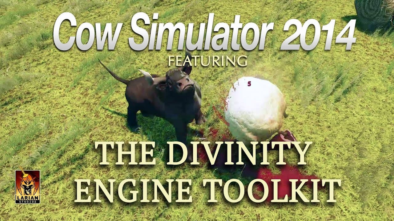 come watch cow simulator 2014 in