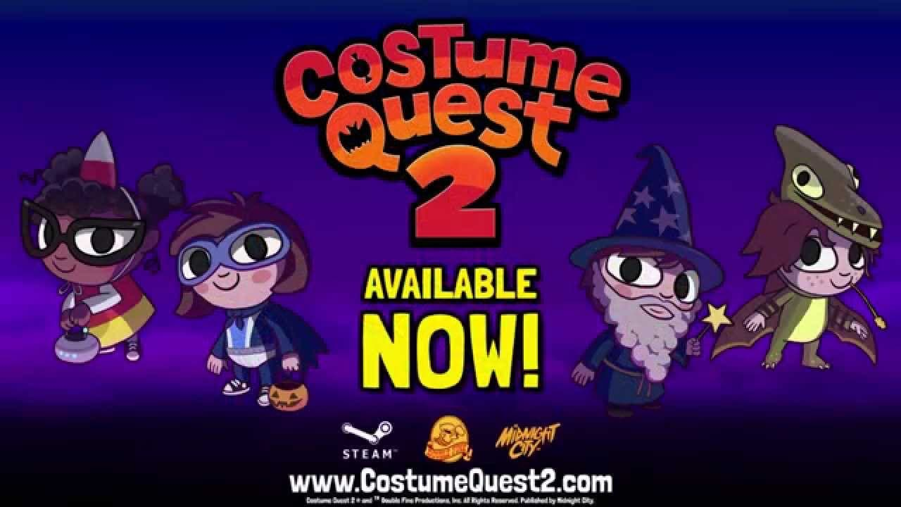 costume quest 2 treats steam wit