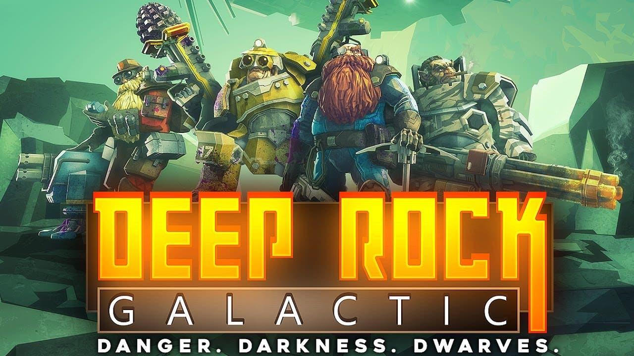 deep rock galactic announced by