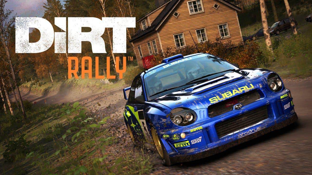 dirt rally gets flying finland u