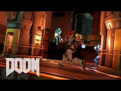 doom multiplayer trailer release