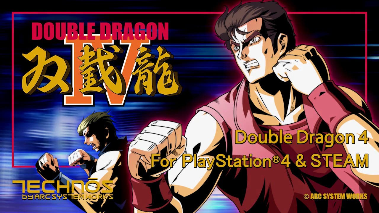 double dragon iv is now availabl