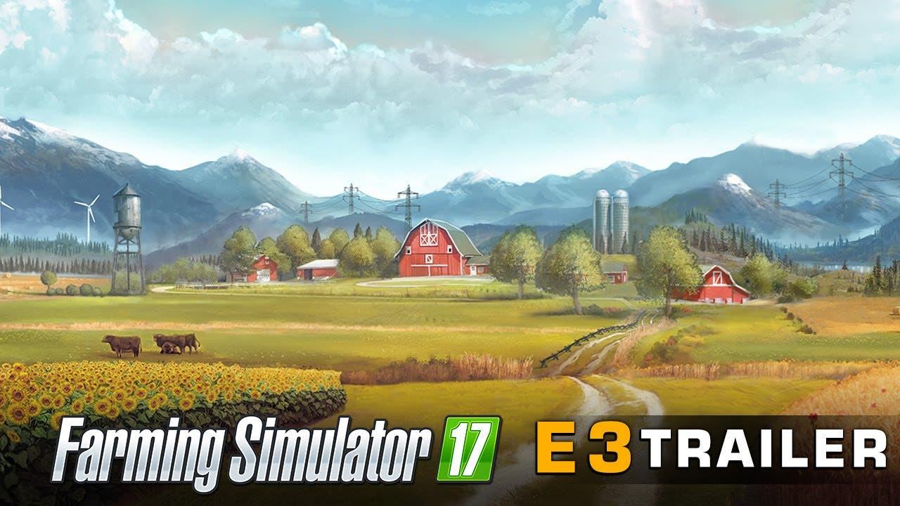 e3 2016 farming simulator 17 sho