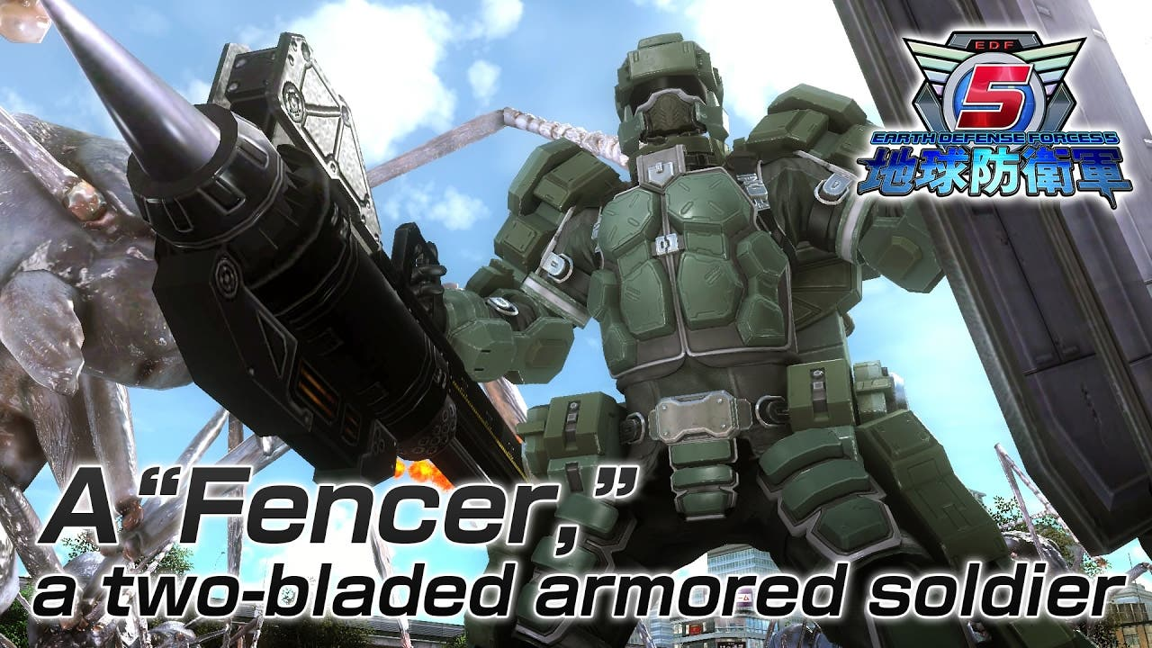 earth defense force 5 gets secon