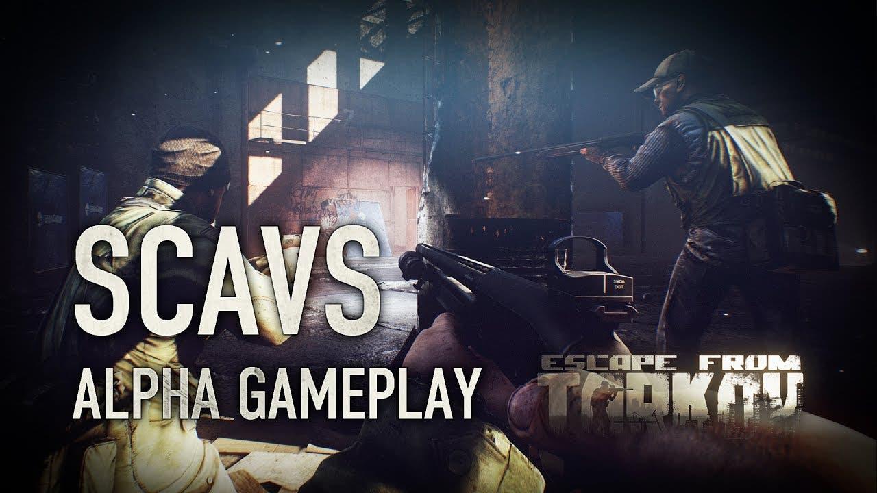 escape from tarkov alpha gamepla