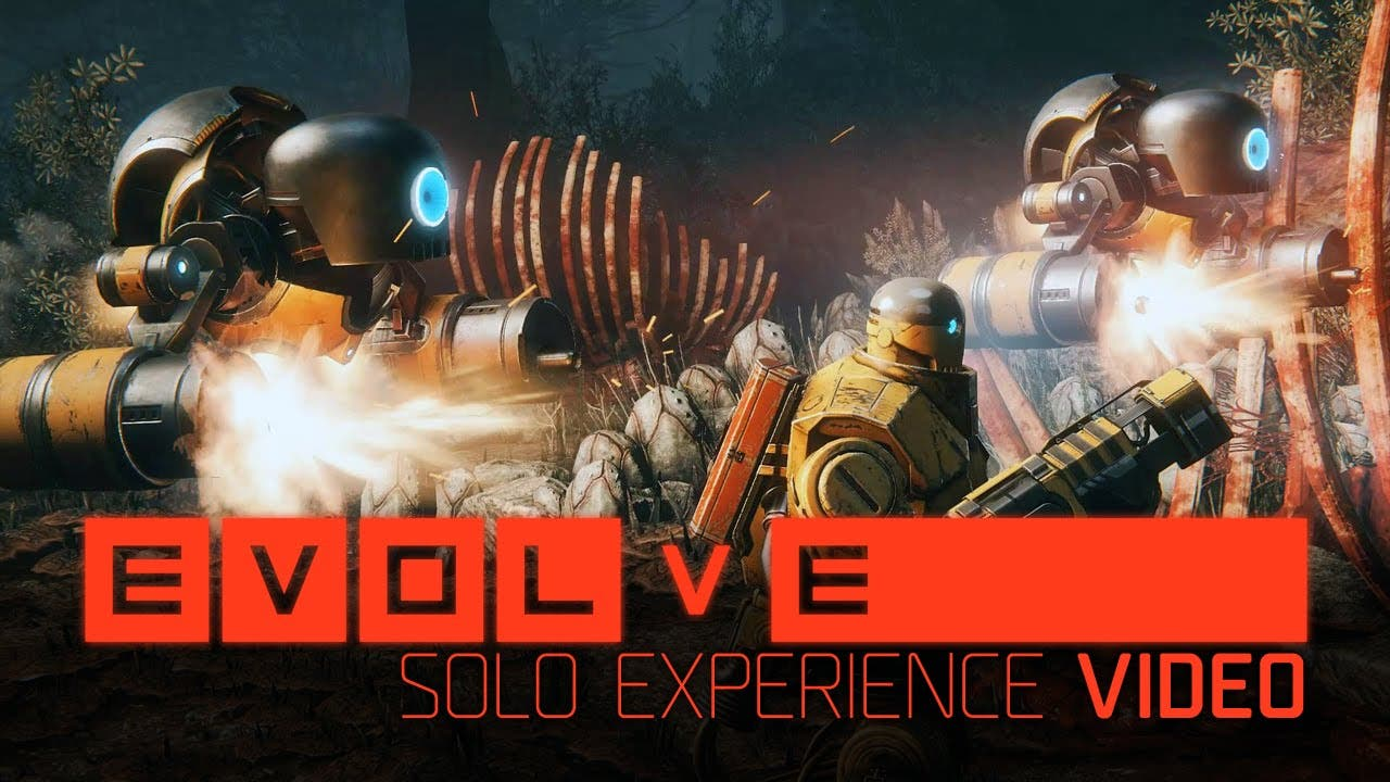 evolve 22 minute gameplay video