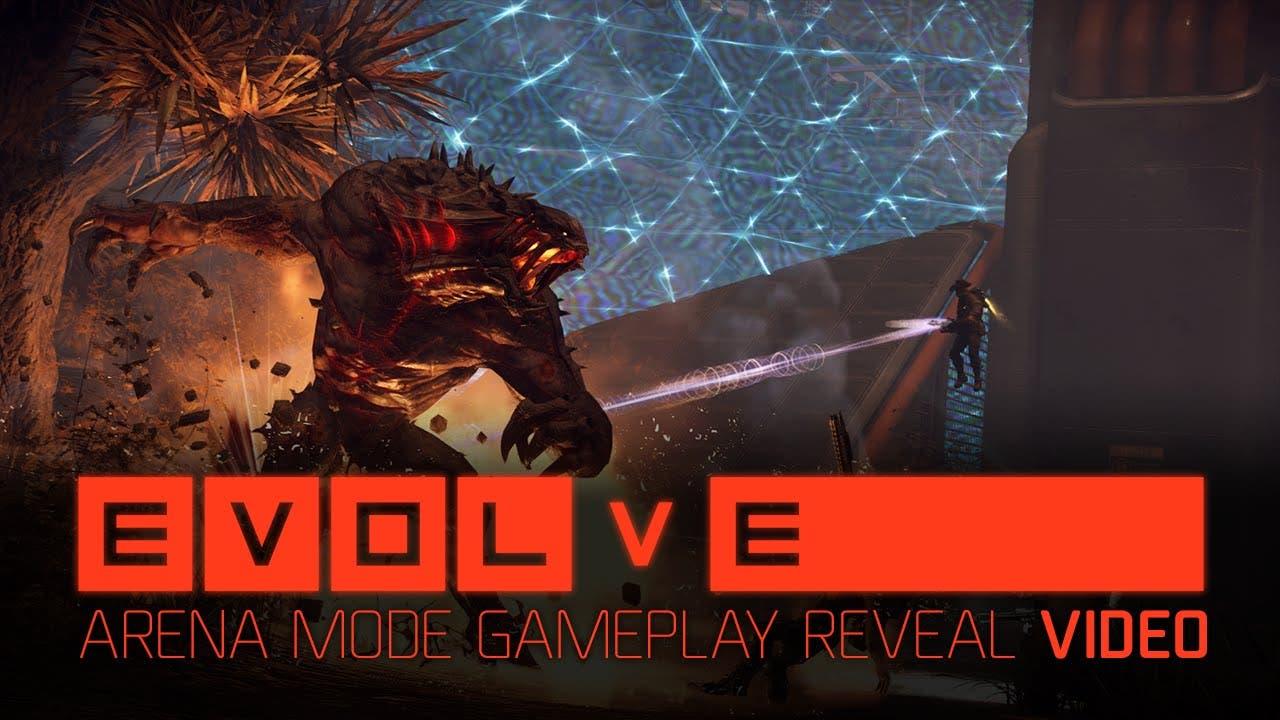 evolve gets free arena mode dlc
