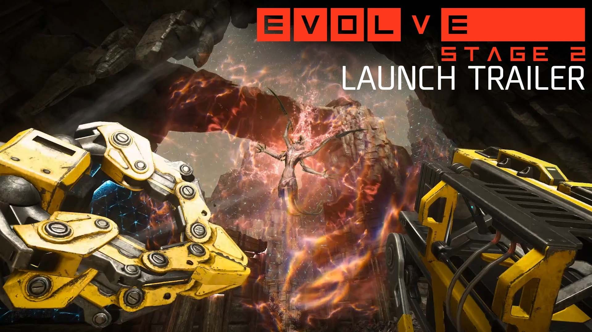 evolve is readies up for stage 2