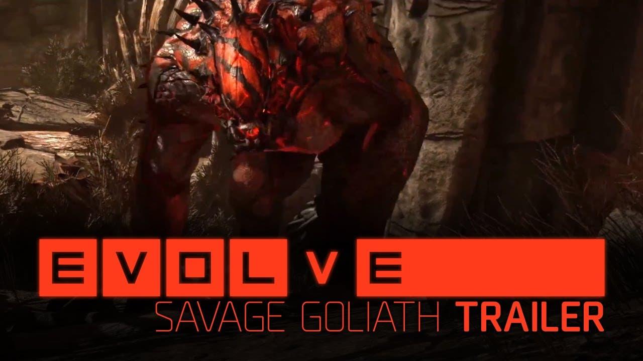 evolve shows off the savage goli