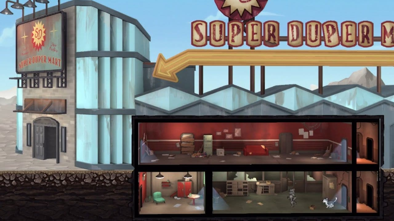 fallout shelter updates with que