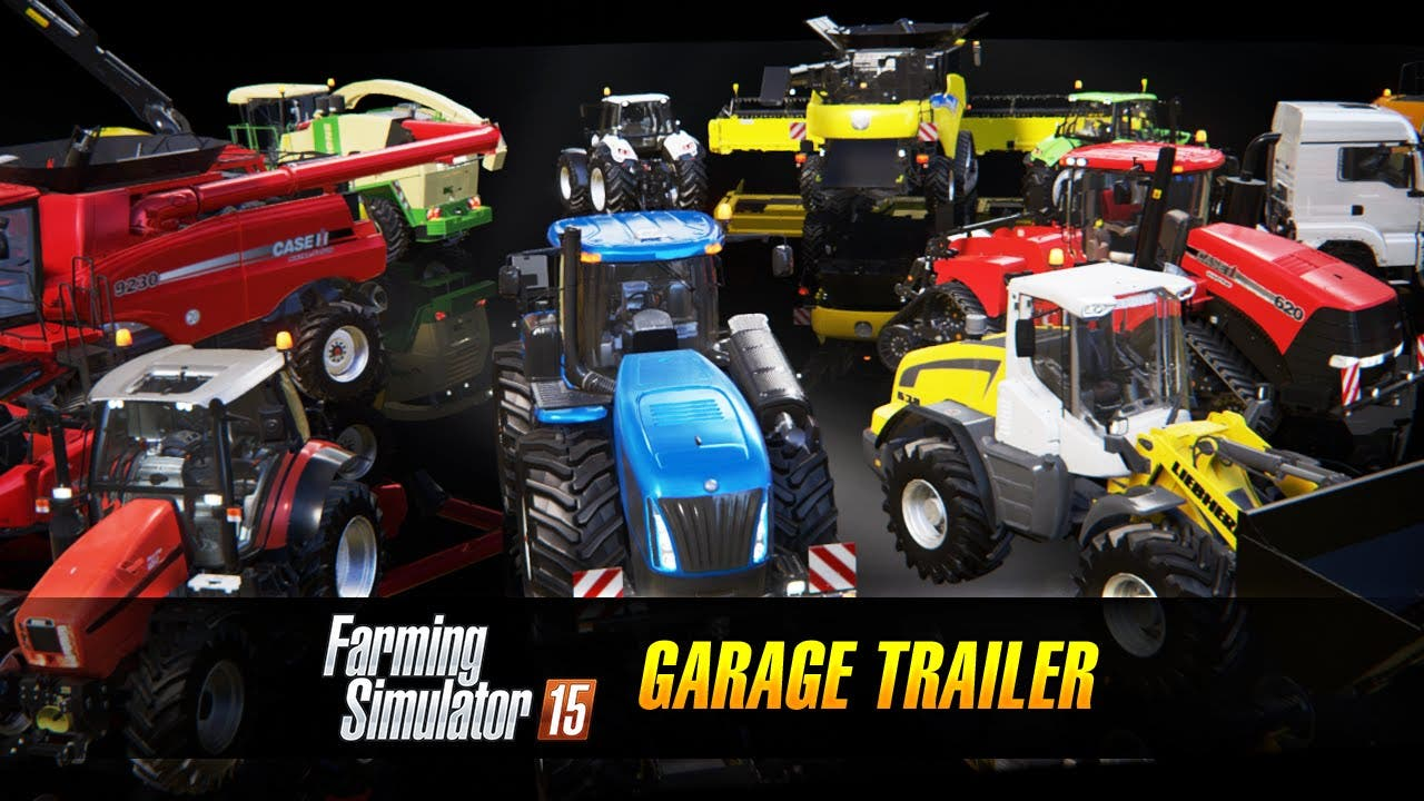 farming simulator 15 displays it