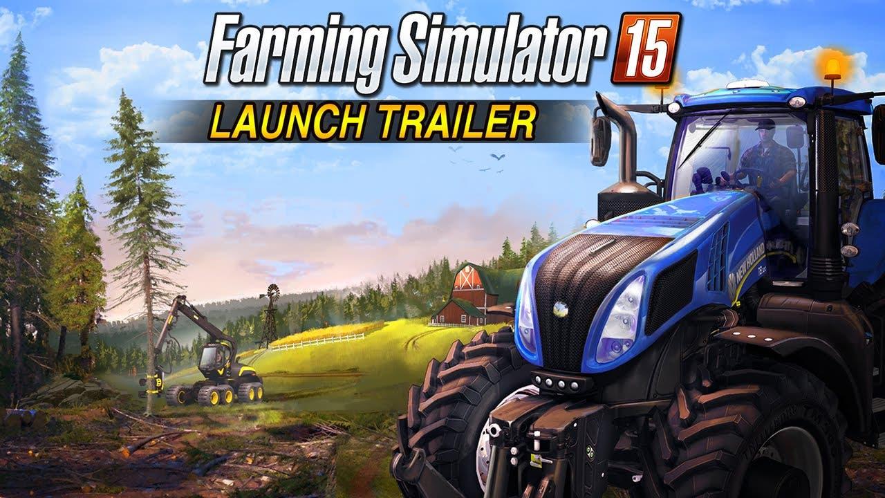 farming simulator 15s launch tra
