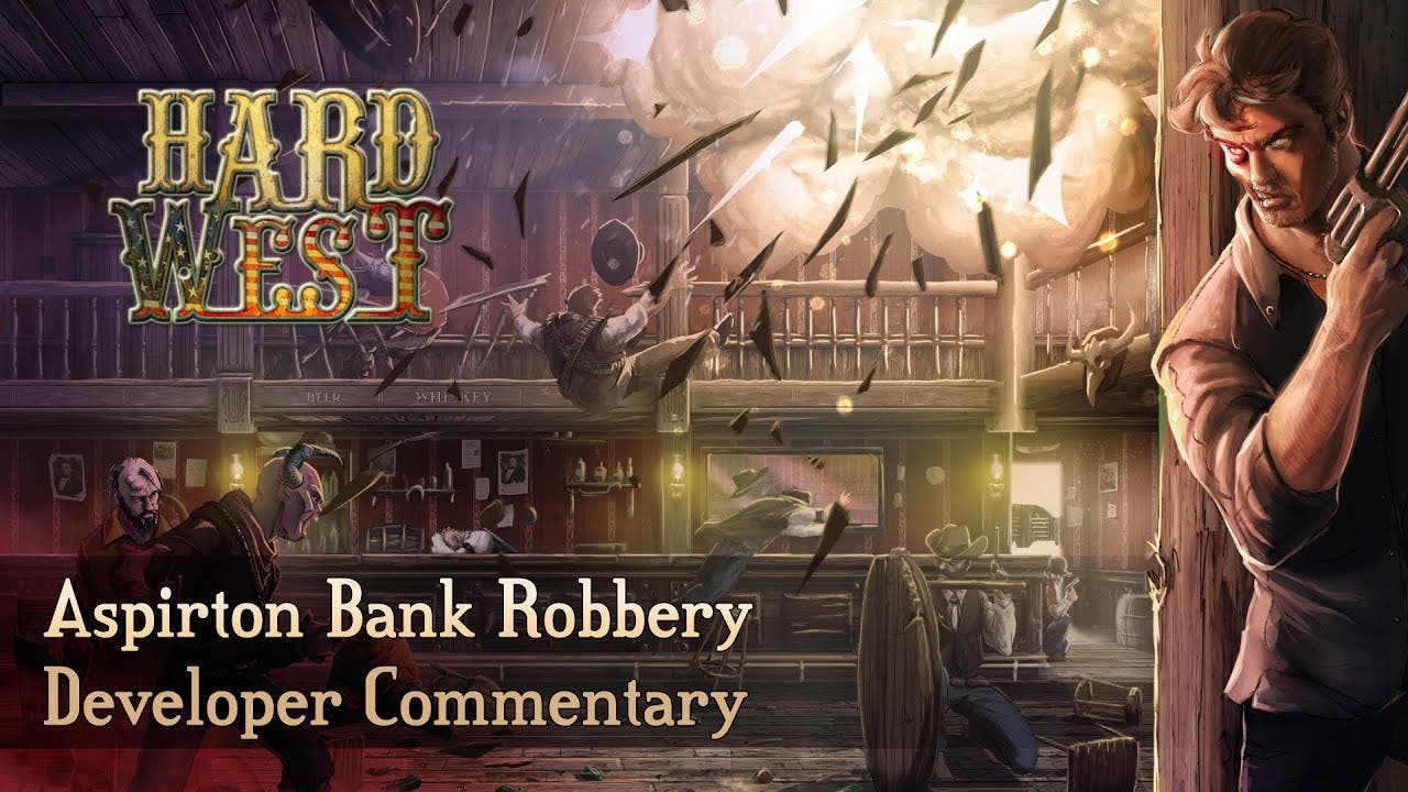 first gameplay of hard west ahea