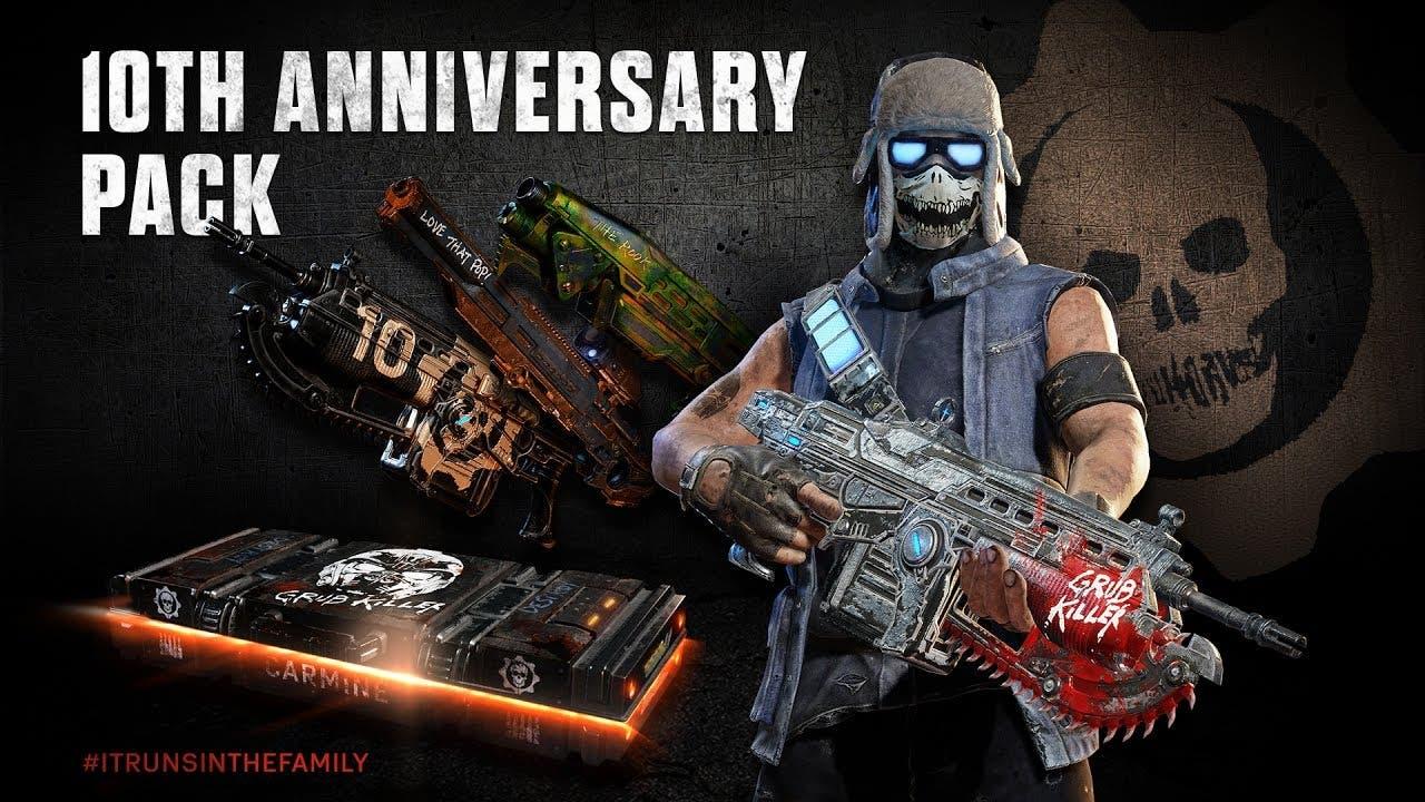gears of war franchise celebrate