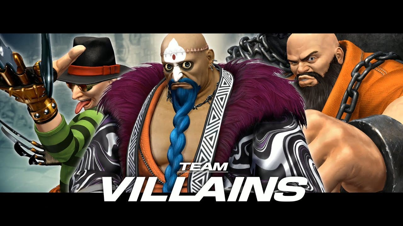 get a look at the villains of th