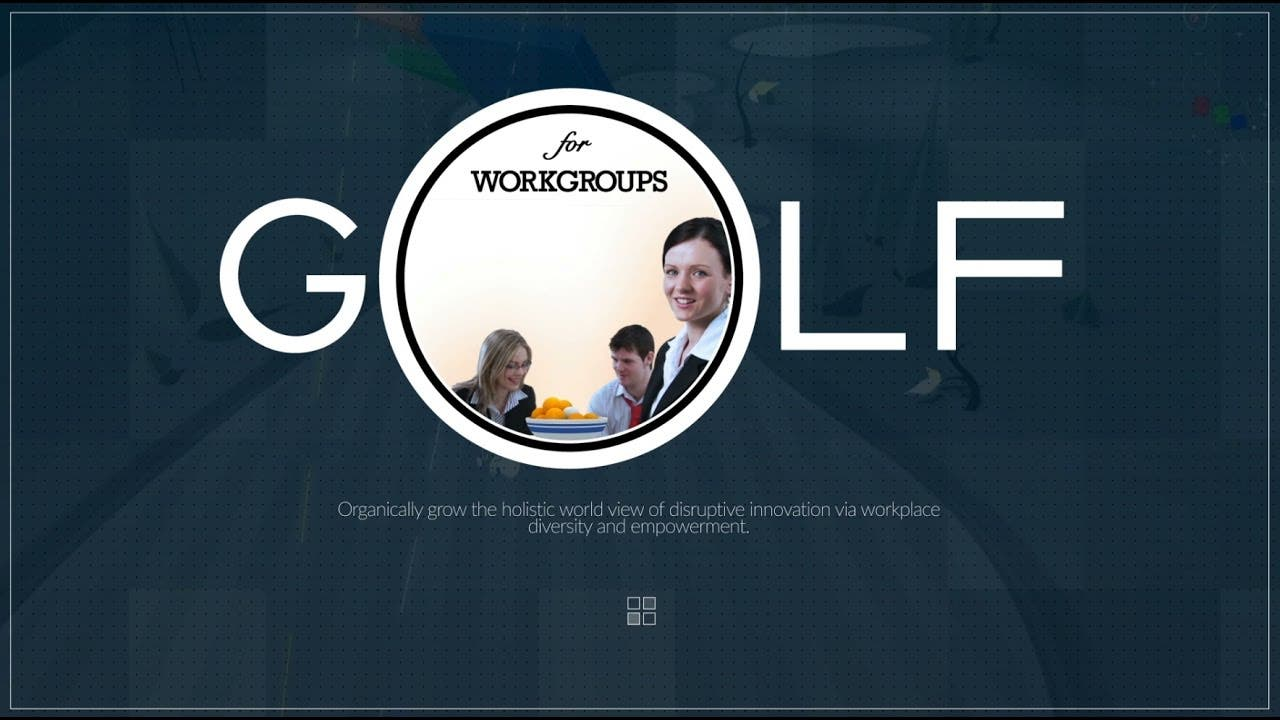 golf for workgroups organizes a