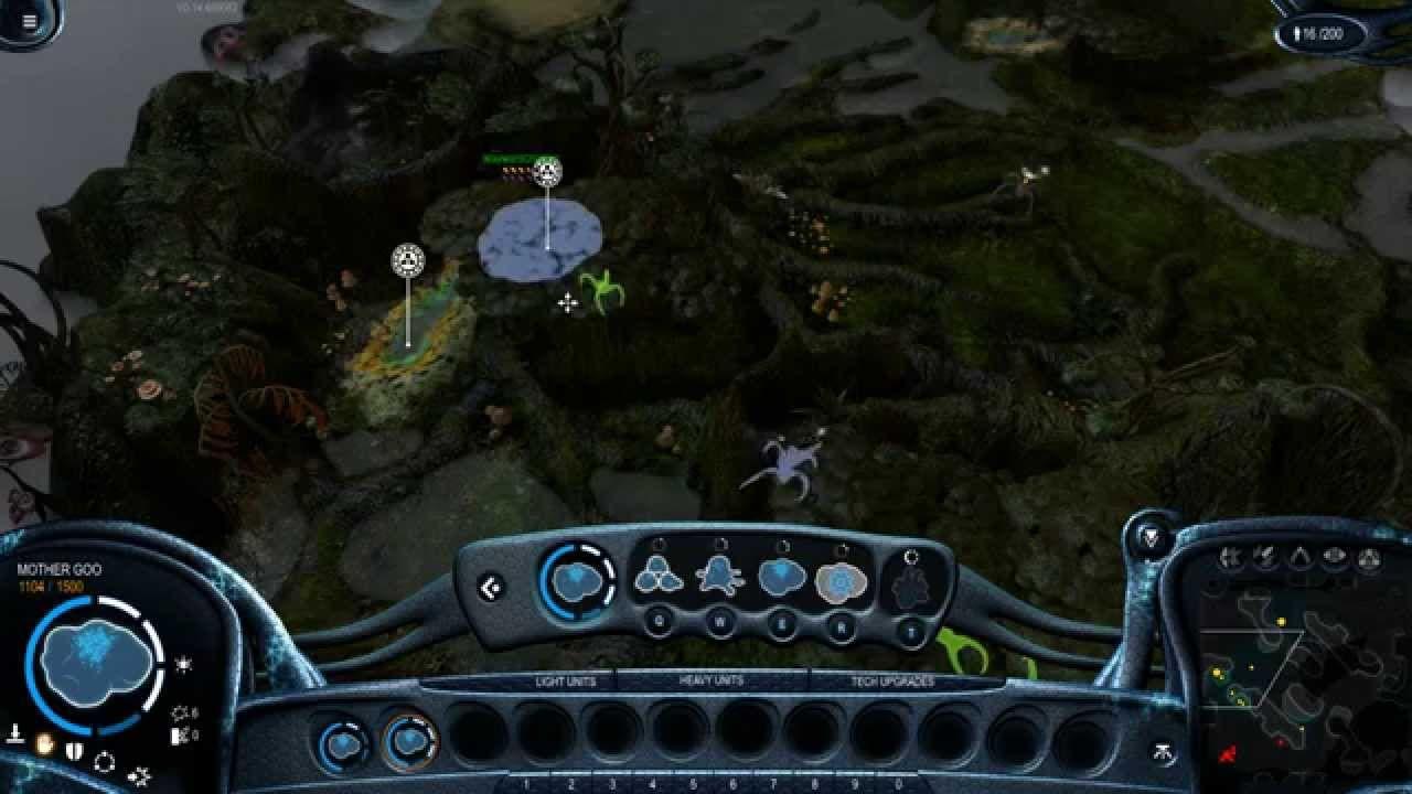 grey goo gameplay puts goo vs hu