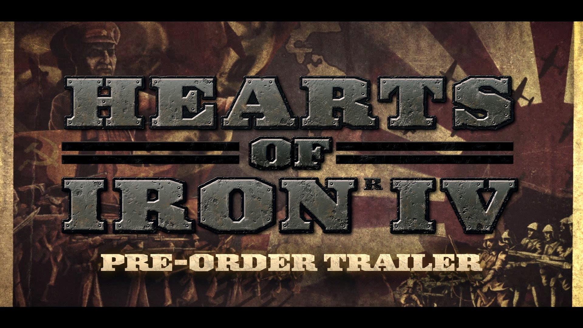 Hearts Of Iron Iv Is Now Available To Pre Order Saving Content