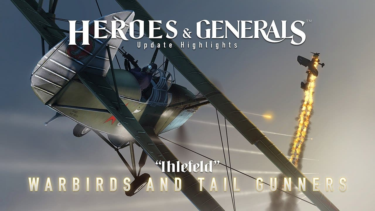 heroes generals takes to the sky