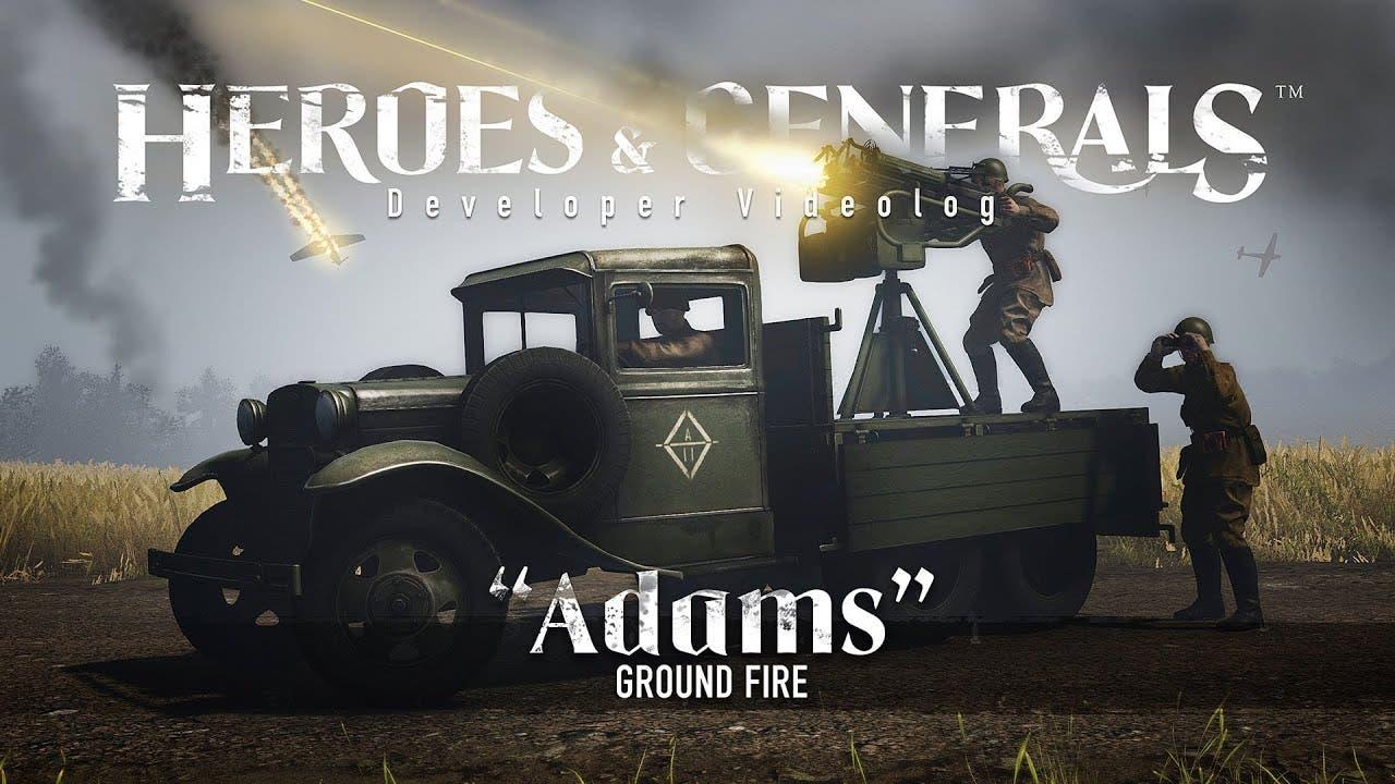 heroes generals update introduce