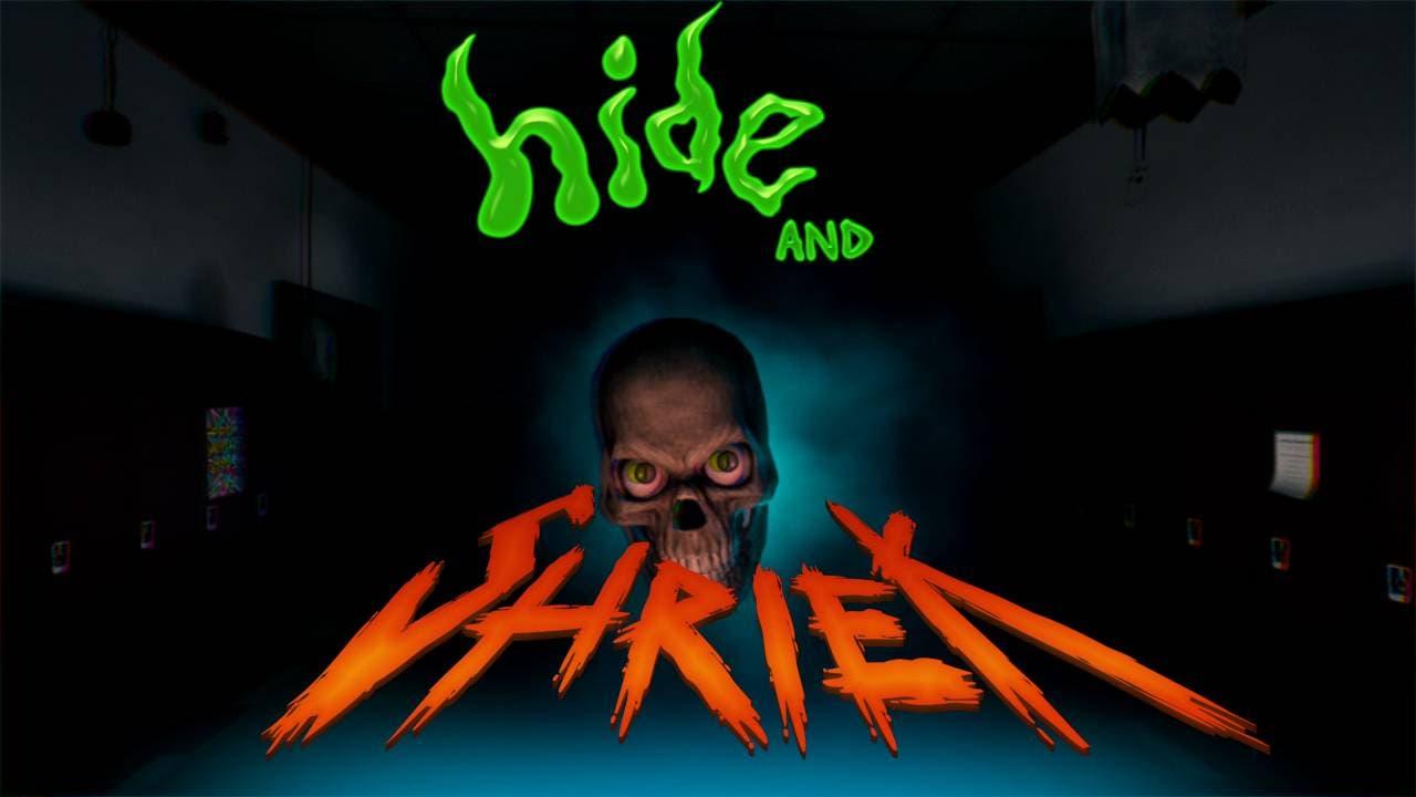 hide and shriek a halloween them