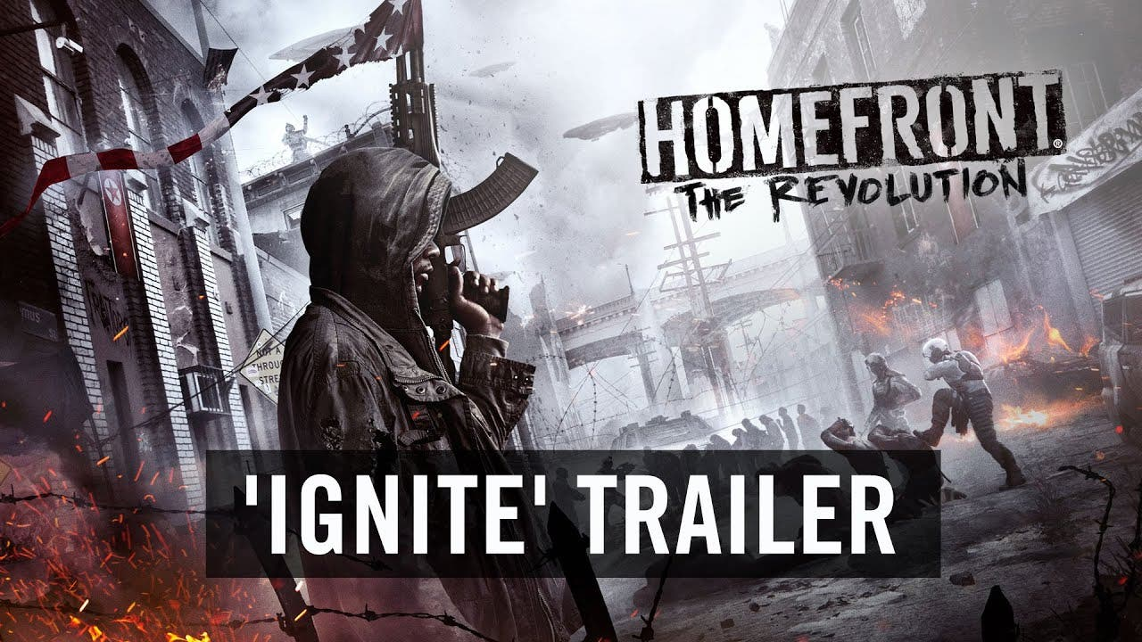 homefront the revolution trailer