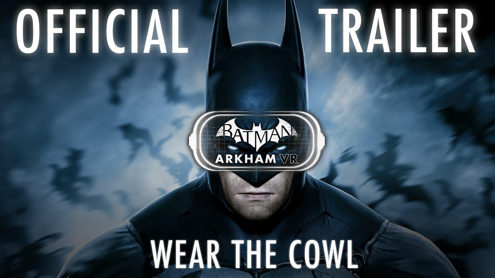 in batman arkham vr you get to w