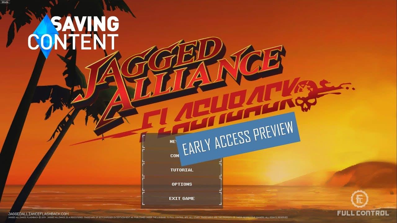 jagged alliance flashback gettin