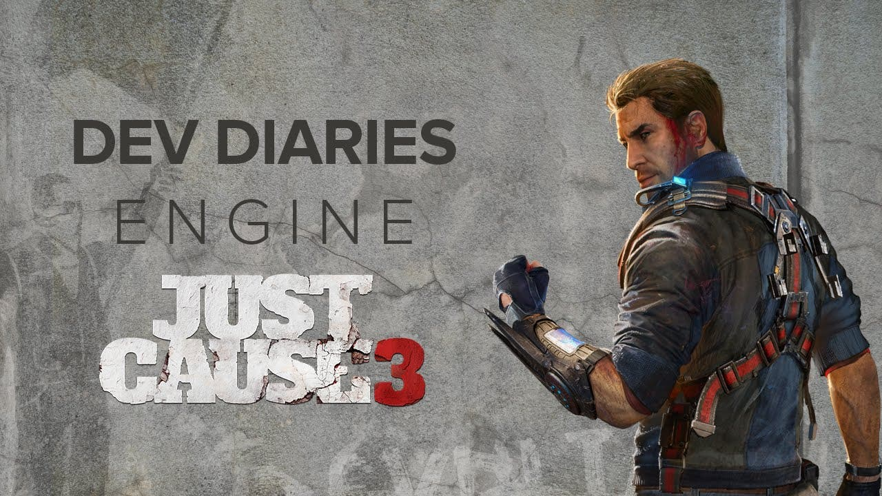 just cause 3 dev diary goes over