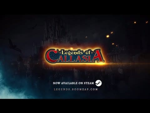 legends of callasia is now fully