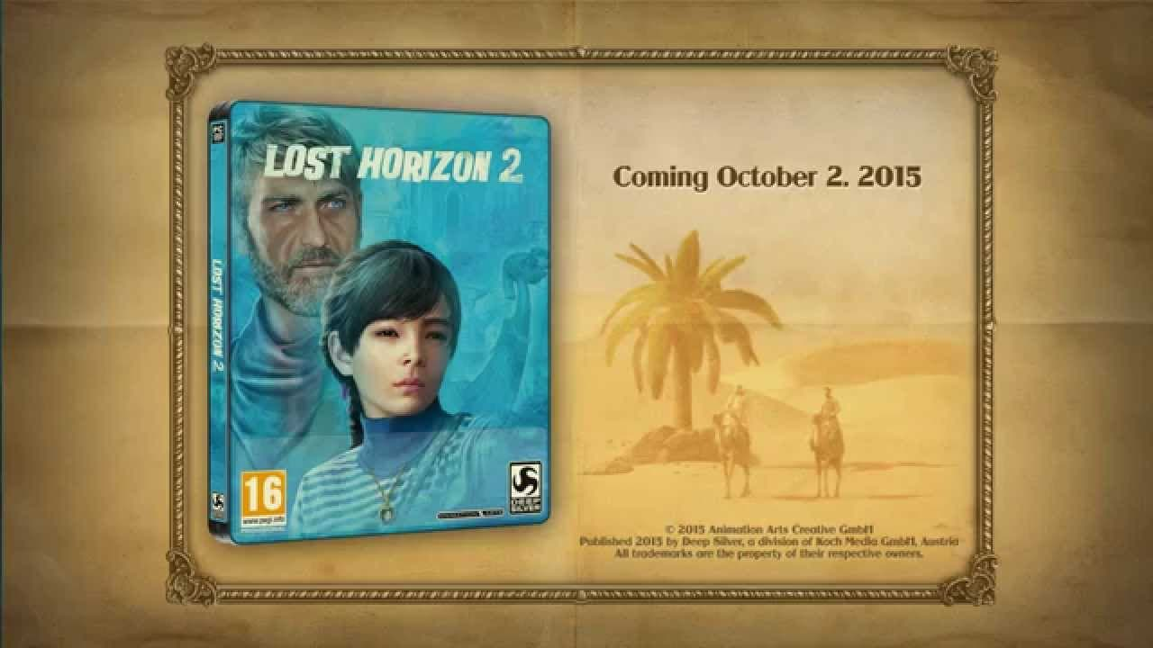 lost horizon 2 trailer from game