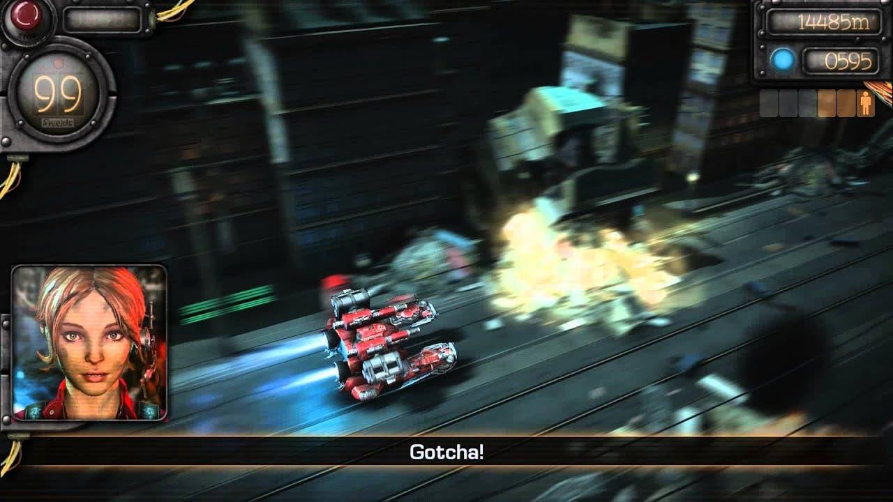 mechrunner gets new gameplay tra