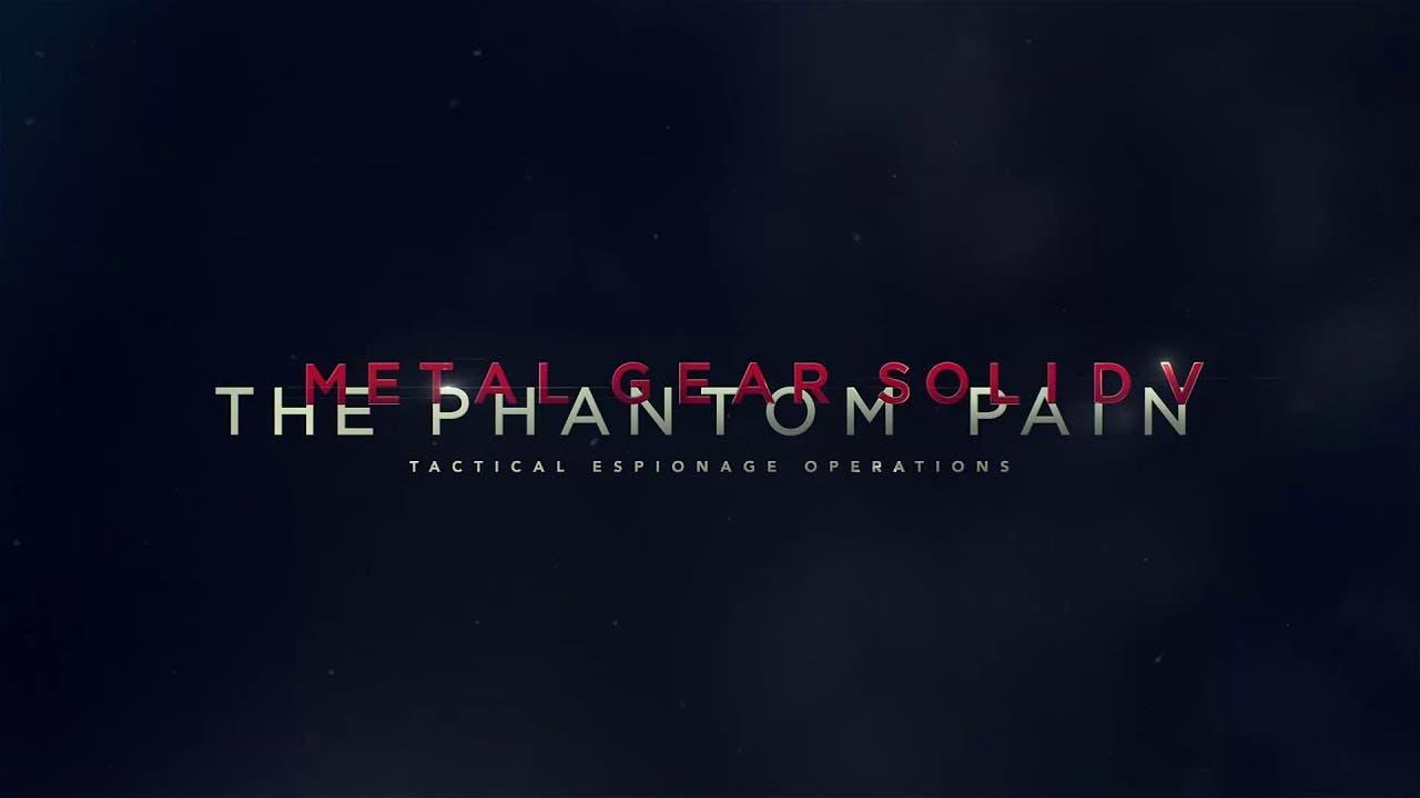 metal gear solid v the phantom p 1