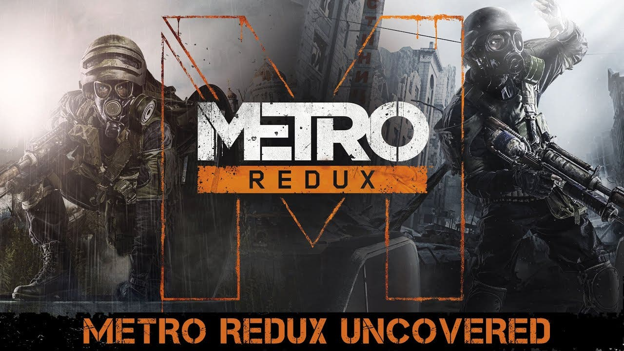 metro redux uncovered trailer is