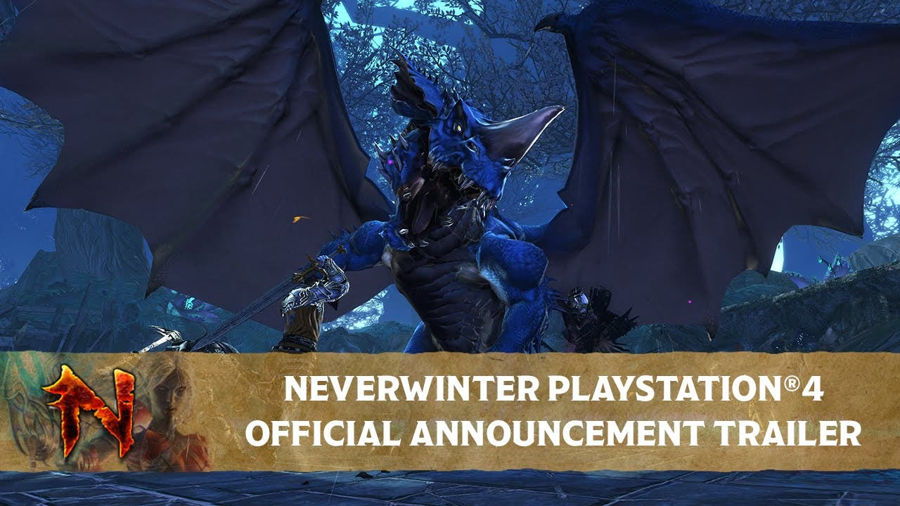 neverwinter is coming to ps4 wit