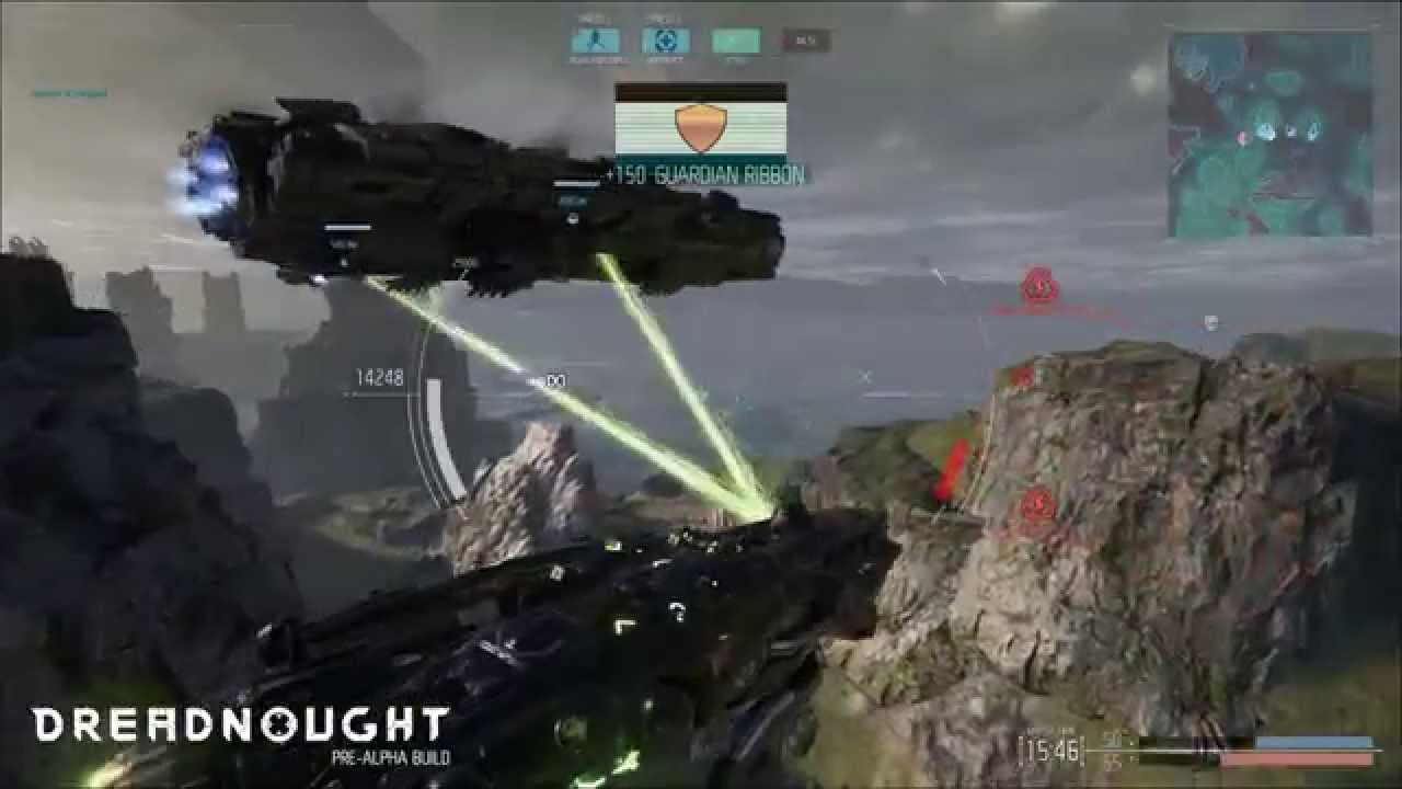 new dreadnought gameplay video w