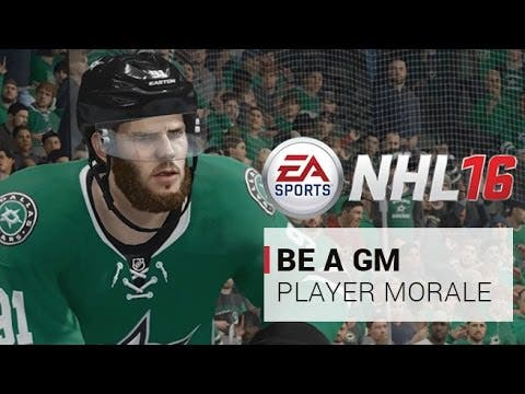 nhl 16s gm mode is about player