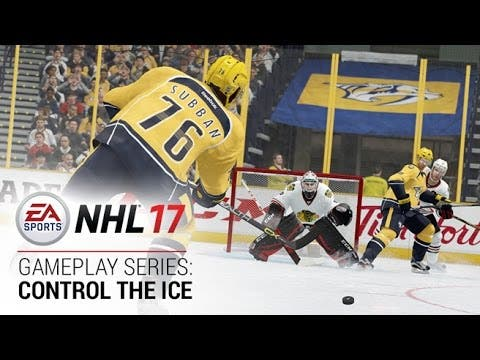 nhl 17 gameplay video shows you
