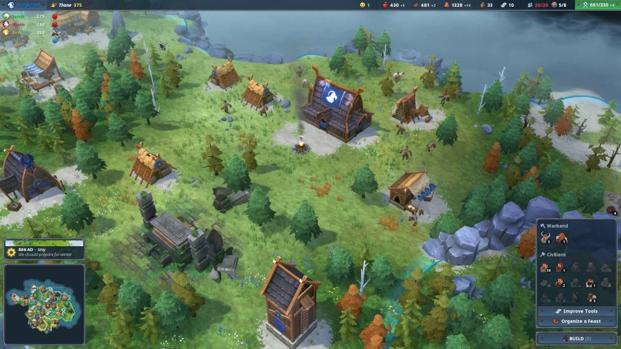 northgard the viking strategy fr